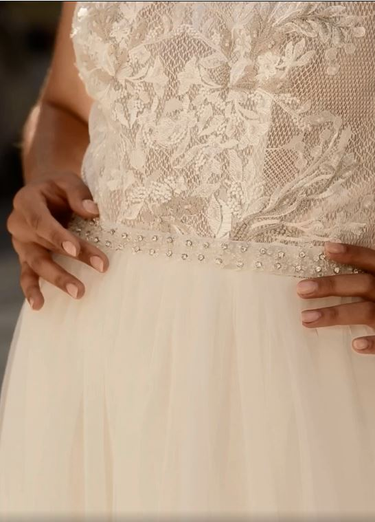 CLARA WEDDING DRESS from Boho-luxe Bride Collection | Shop Affordable Bridal Wear at JO MÂLIN ATELIER www.jomalin.com