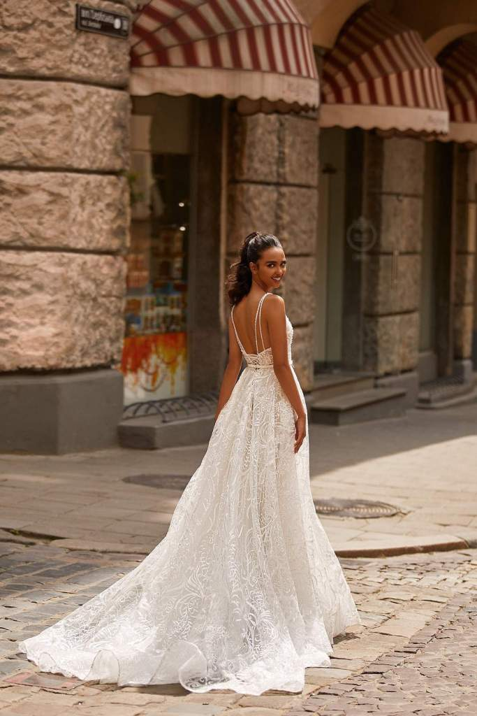 NOA WEDDING DRESS from Boho-luxe Bride Collection | Shop Affordable Bridal Wear at JO MÂLIN ATELIER www.jomalin.com