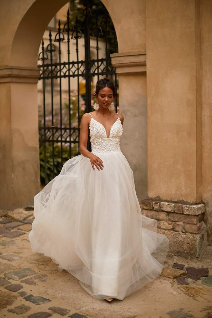SAFIRA WEDDING DRESS from Boho-luxe Bride Collection | Shop Affordable Bridal Wear at JO MÂLIN ATELIER www.jomalin.com